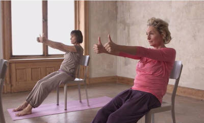 "Yoga 50plus: Einzelübung ""Die Zang"