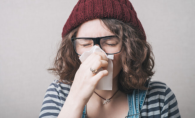 Erkältungssymptome