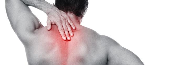 Schmerzen im oberen Rücken