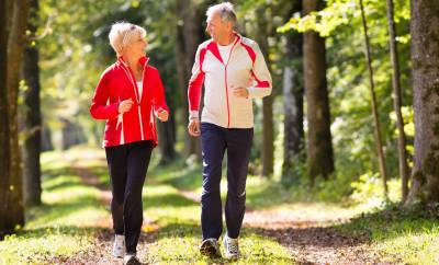 Blutdruck senken durch Bewegung
