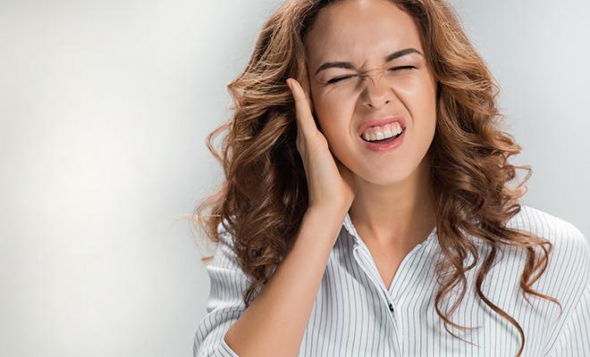 Ohrenschmerzen sind häufig bakteriell verursacht.