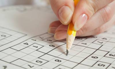 Konzentrationsschwierigkeiten: Sudokus lösen macht Spaß und trainiert das Gehirn.
