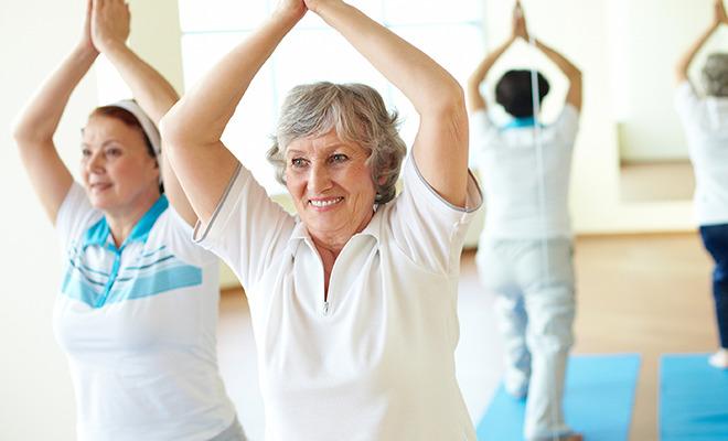 Osteoporose: Sport beugt vor.