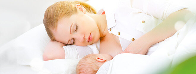 Mutter und Baby: erhöhter Bedarf an Vitamin E
