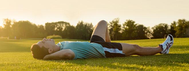 Laufen für Anfänger: Pausen machen