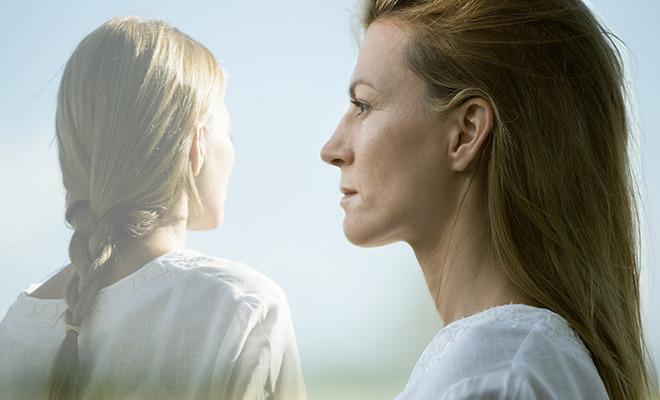 Frau mit Multipler Sklerose