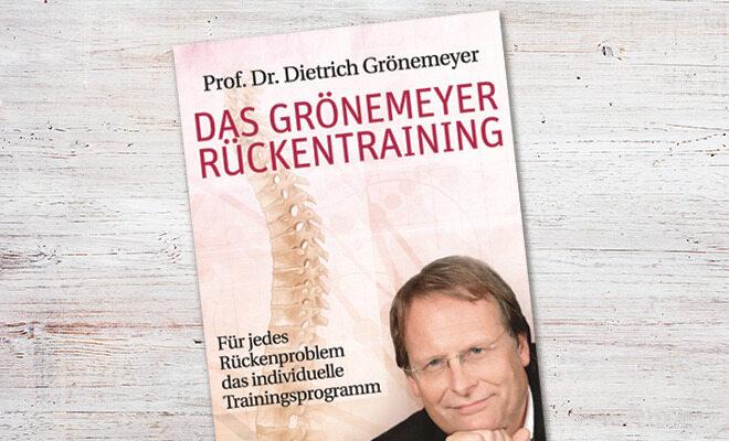 Das Groenemeyer Rueckentraining von Dietrich Groenemeyer