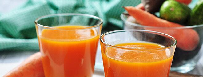 Detox Diät: Karottensaft