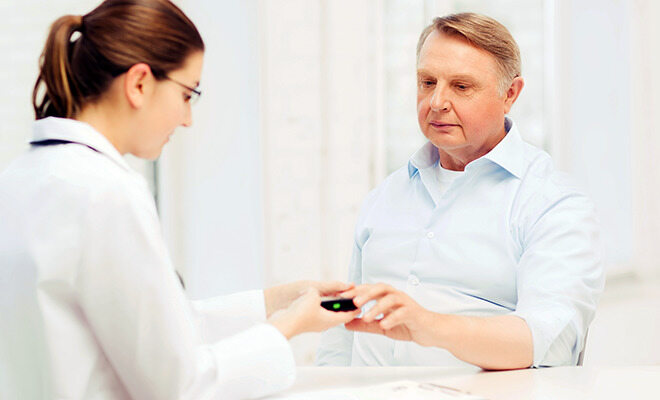 Blutzuckermessung bei Diabetes