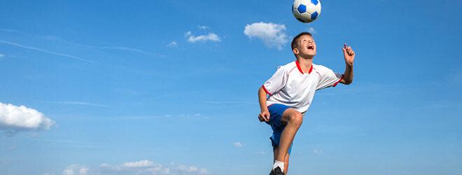 Fußball fördert die Fitness
