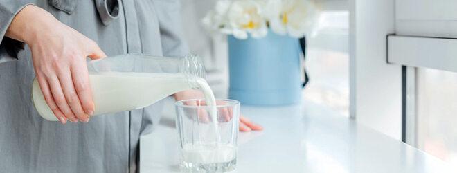 Die empfohlene Tagesmenge: ein Viertelliter Milch und zusätzlich ein oder zwei Scheiben Käse