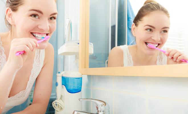 Zahnfleischentzündung lässt sich vorbeugen: Mit Zähneputzen
