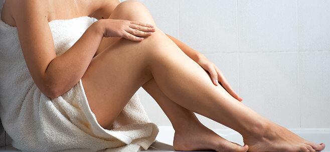 Ausschnitt Frauenbeine