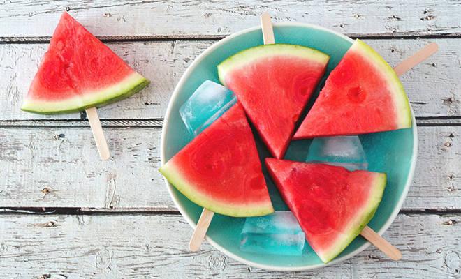 Essen bei Hitze: Wassermelone