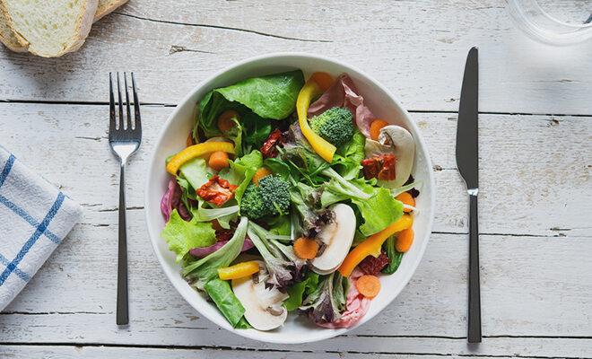 Essen bei Hitze: Blattsalat