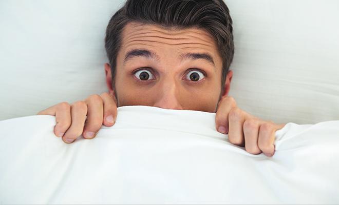 Schauen Sie lieber genau in Ihr Bett. Vielleicht krabbelt's dort!