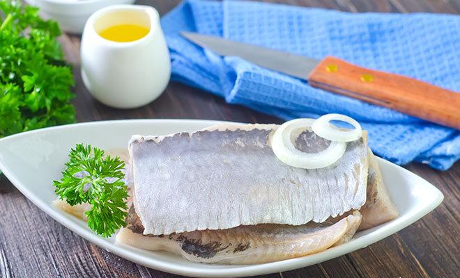 Fisch mit Zwiebel