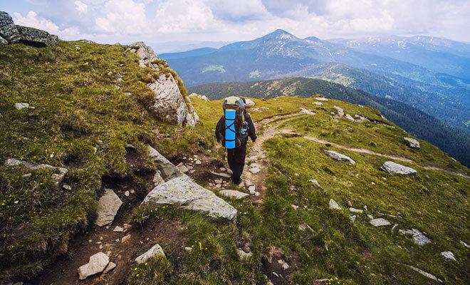 Wandern für den Rücken