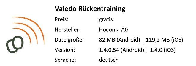 Valedo_Rückentraining