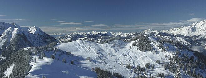 Nur wenige Meter weit weg: dieser Ausblick über die Region Sankt Johann-Alpendorf