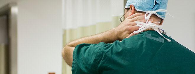 Nackenverspannungen: Stress und psychischer Druck können Ursache sein