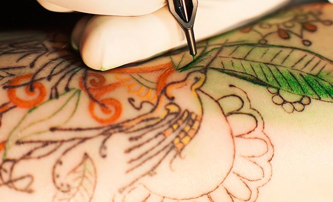 Tattoos gefährlich