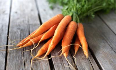 Ein Bündel Karotten: Hilfreich gegen Vitamin-A-Mangel