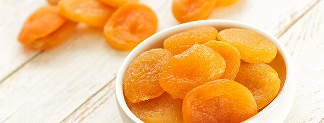 Vitamin-A-Mangel: mit getrockneten Aprikosen kann man vorbeugen