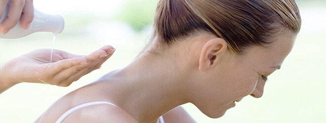 Massage mit Öl
