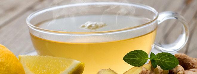 Viel trinken hilft bei Grippe. Besonders Ingwertee