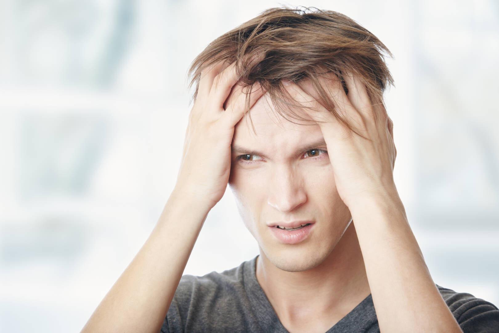 Kopfhaut tut weh beim haare bewegen