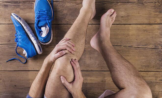 Mann hat Kniescherzen - Kniefreundliche Sportarten helfen