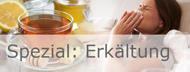 Erkältung: Tee und Ingwer als natürliche Helfer