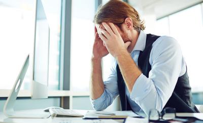 Stress schadet der Gesundheit