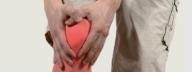 Folge der Dukan-Diät: Ein Gichtanfall am Kniegelenk