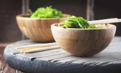 Algen: als Wakame-Salat