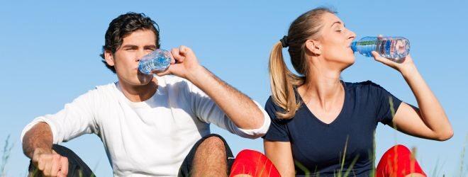 Immer gut hydriert sein!