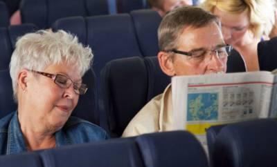 Menschen mit Flugangst können beim Fliegen kaum entspannen.