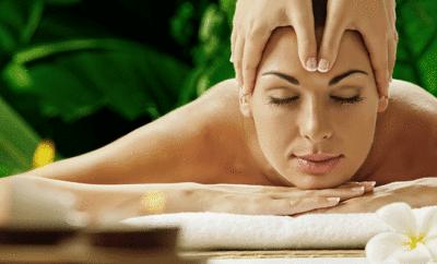 Kopfmassagen sorgen für Entspannung