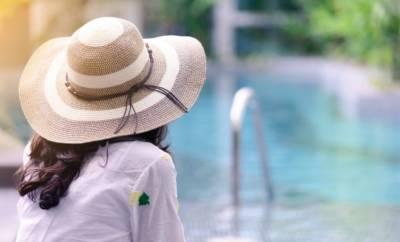 Wer in die SOnne geht, sollte eine Kopfbedeckung tragen.