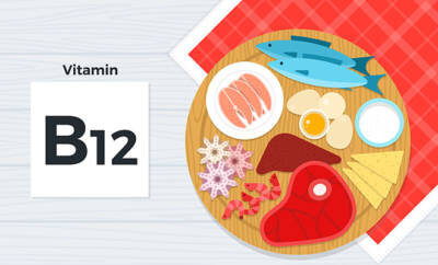 Lebensmittel Vitamin B12