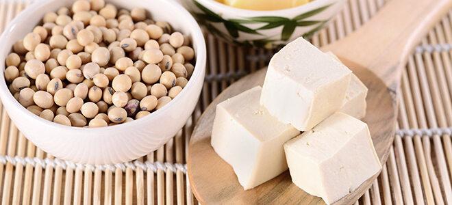 Fleischersatz: Tofu und Sojabohnen