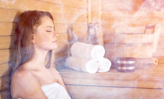 sauna oder dampfbad was ist ges nder. Black Bedroom Furniture Sets. Home Design Ideas