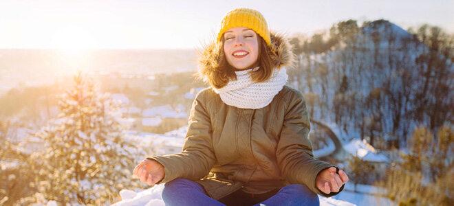 Viel Licht kann einer Winterdepression vorbeugen
