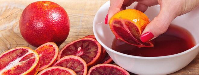 Blutorangen sind saftig und reich an Vitamin C.
