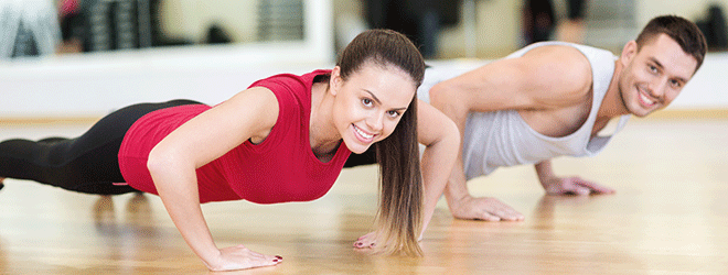 Sport und Bewegung regen den Stoffwechsel an.