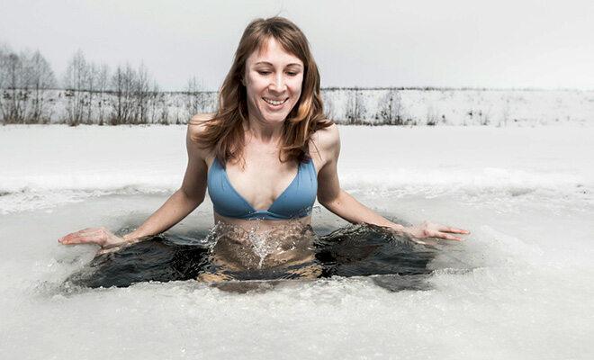Eisbaden kostet Überwindung - aber es lohnt ist!