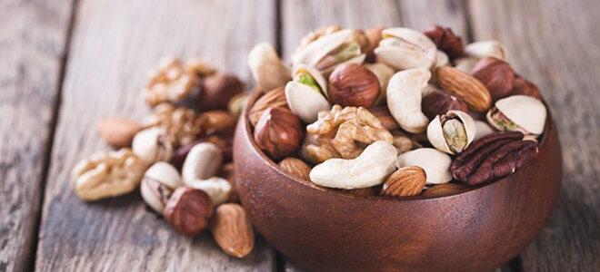gemischte Nüsse