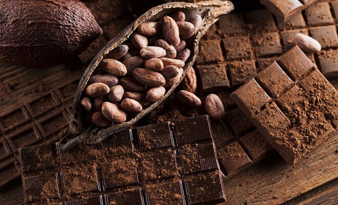 Schokolade, Kakaobohne, Kakaopulver