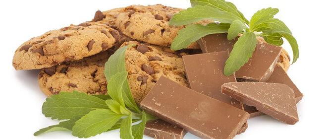 Stevia, Schokolade und Kekse
